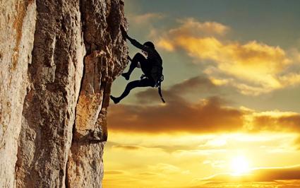 تلاش برای بالا رفتن